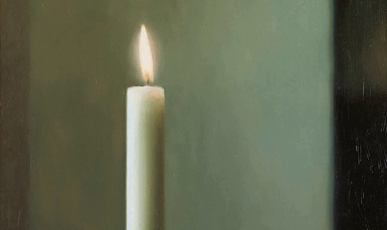 Richter Two Candles Gerhard Richter Candle 1982