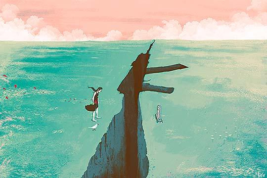 Ilustración de Daniel Liévano aka Liév