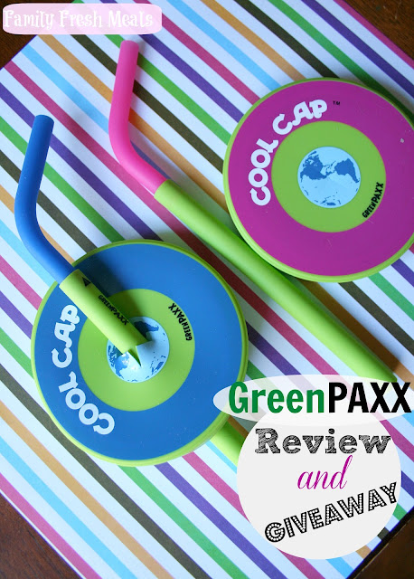 GreenPAXX Reusable Cool Straws & Caps