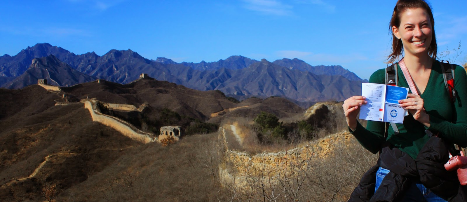 SOS World Pass Great Wall of China