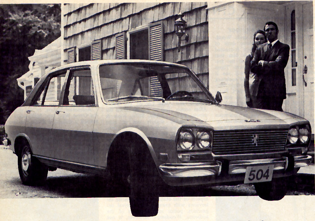 Old Cars Canada: 1969 Peugeot 504