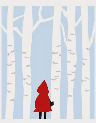 http://www.etsy.com/listing/74313937/little-red-riding-hood-nursery-art-print