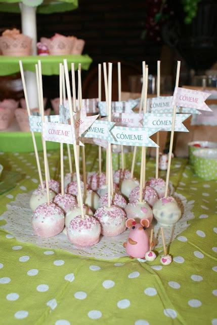 cakepops comeme! cake pops