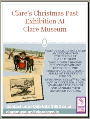 Clare's Christmas Past Exhibition At Clare Museum