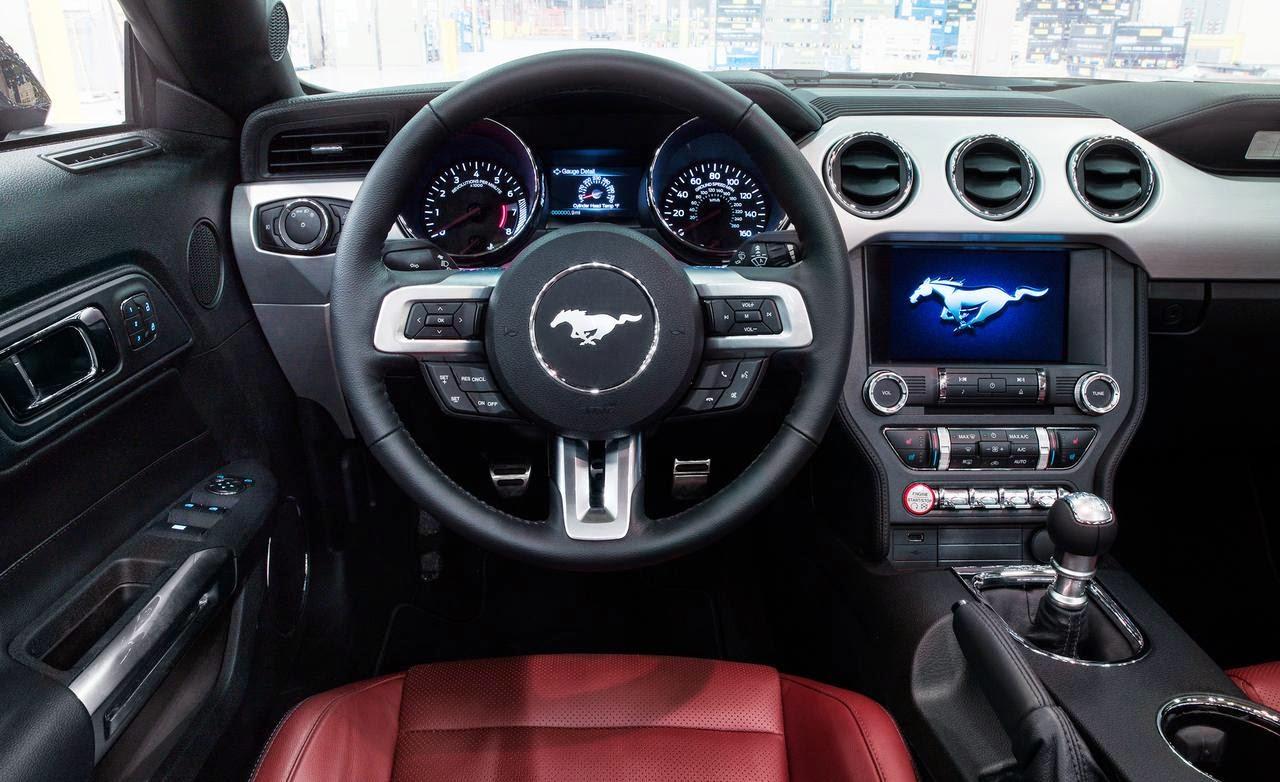 Ford mustang generations 2015 mustang interior
