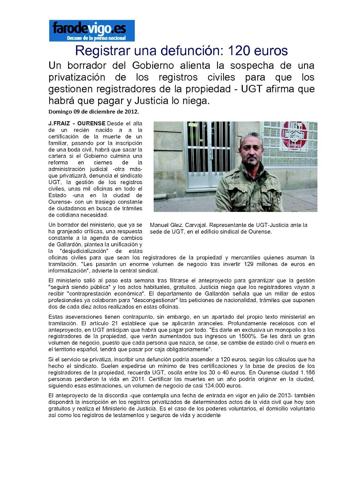 Ugt justicia galicia 2012 for Registro de la propiedad lugo