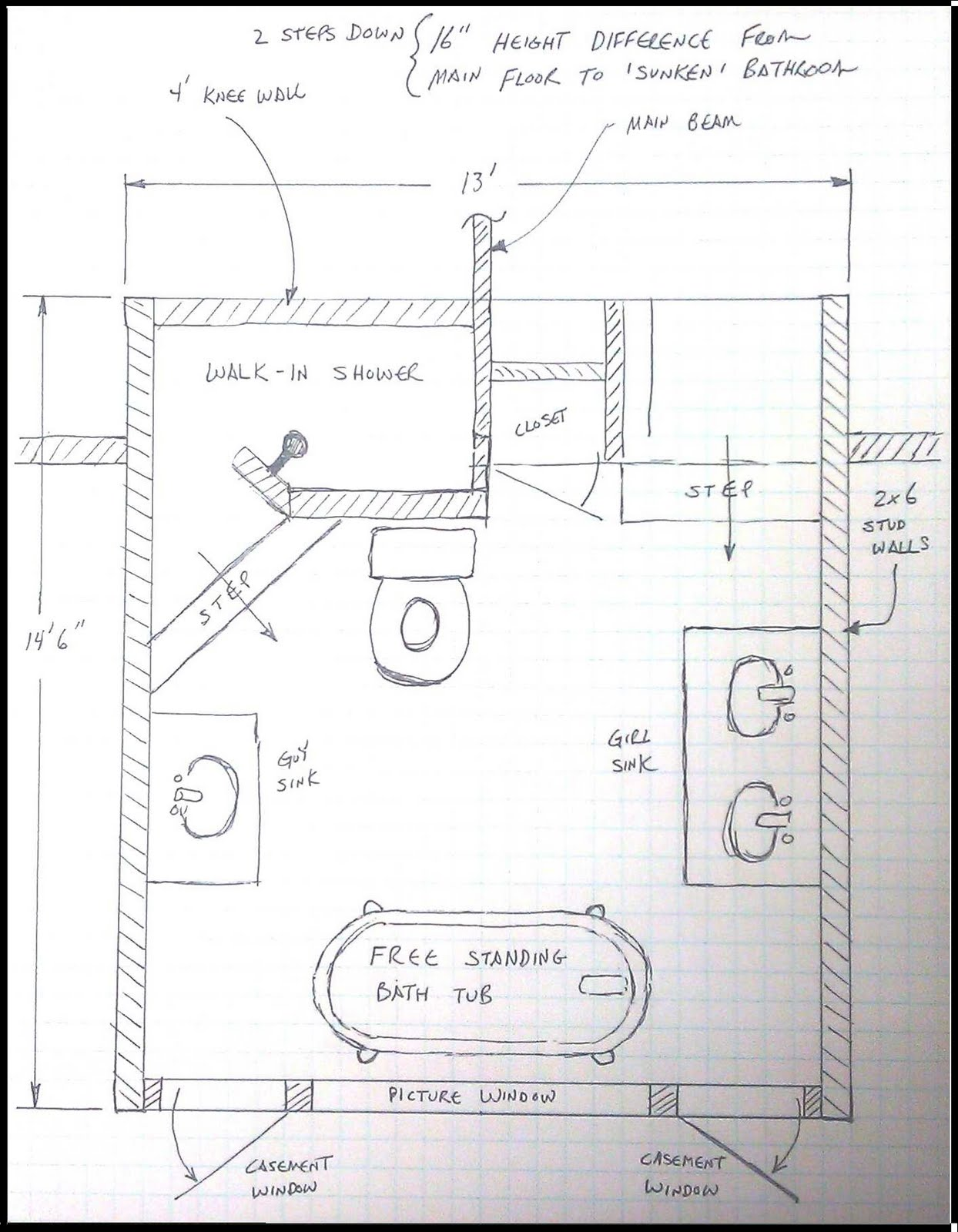 bathroom design layout best layout room - Bathroom Floor Planner Free