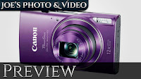 Canon Powershot ELPH 180,190IS & 360HS Just Announced | Preview