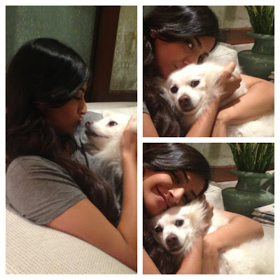 Sonam kapoor Unseen photo with Cute Dog