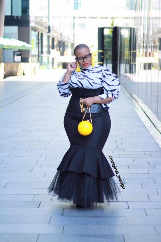 Moda para gorditas, las curvas de la moda