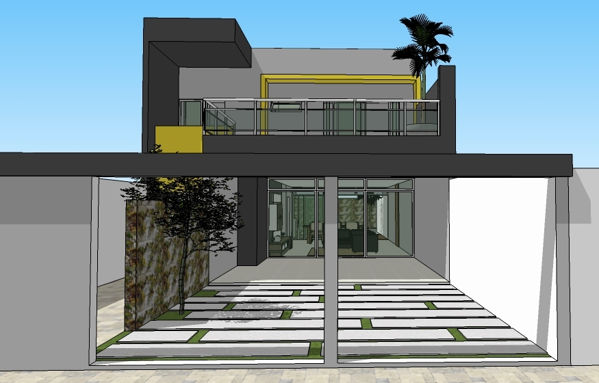 Projetos de casas modernas e baratas for Casa moderna baratas