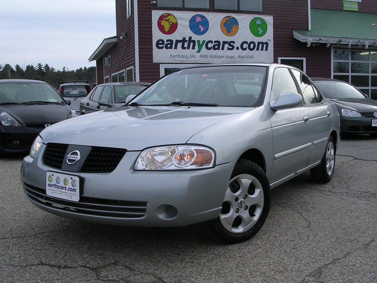 Earthy Car Of The Week 2004 Nissan Sentra 1 8 Ulev