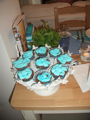 mavi cupcake