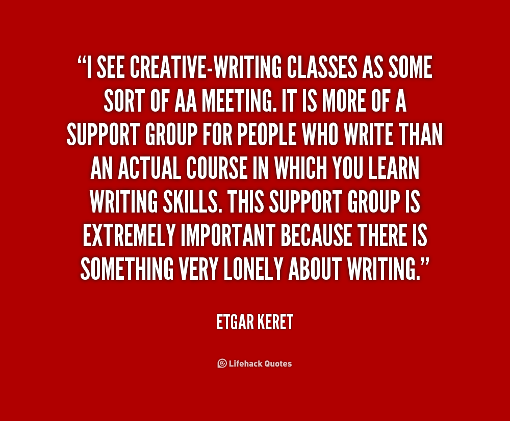 Creative writing groups online
