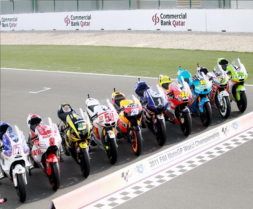 2014 MotoGP Bikes