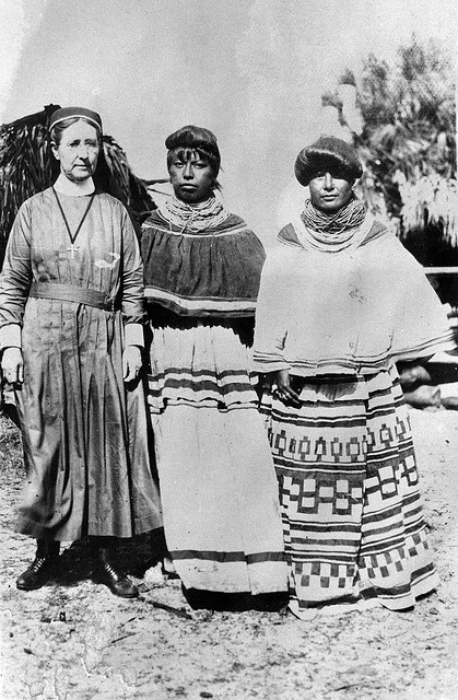 In photos: Seminole Indians and Missionary Harriet Bedell