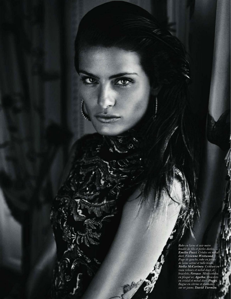 Fashionable Hairs Isabeli Fontana by Mario Sorrenti 05
