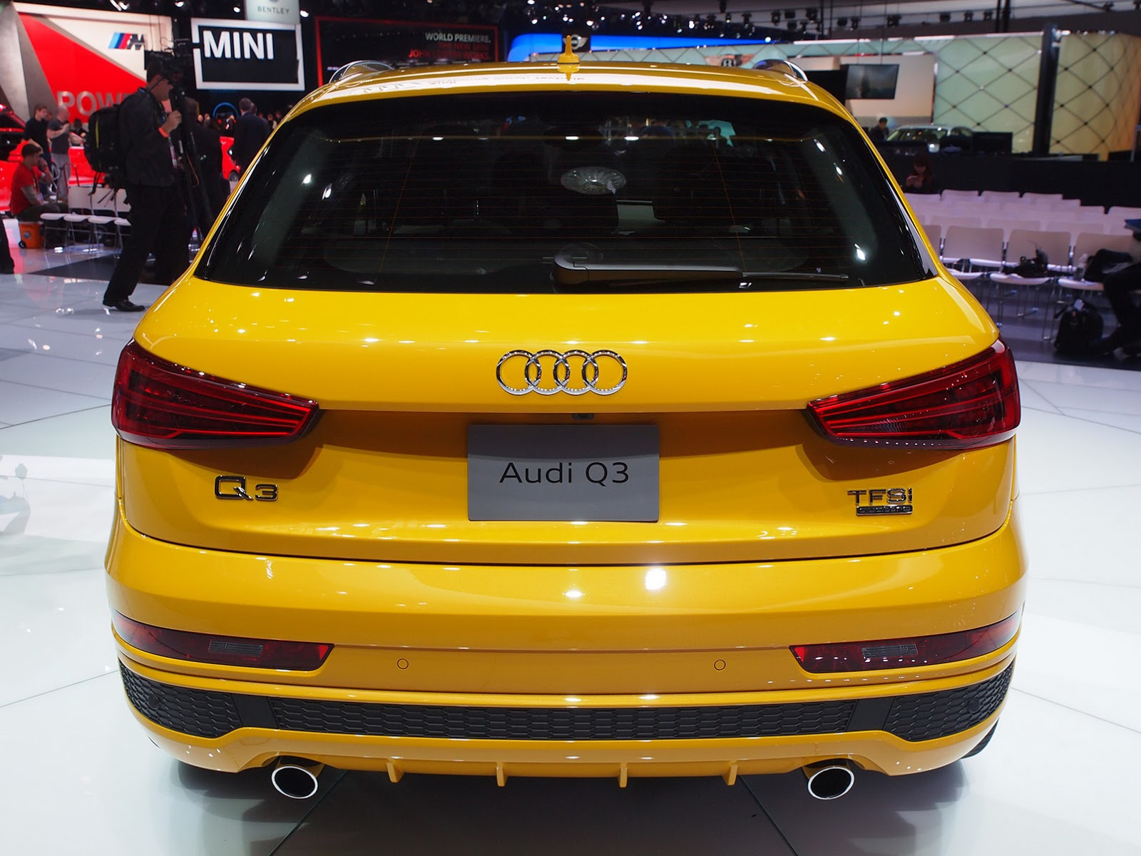 2016 audi q3 facelift comes to us priced from 33 709. Black Bedroom Furniture Sets. Home Design Ideas