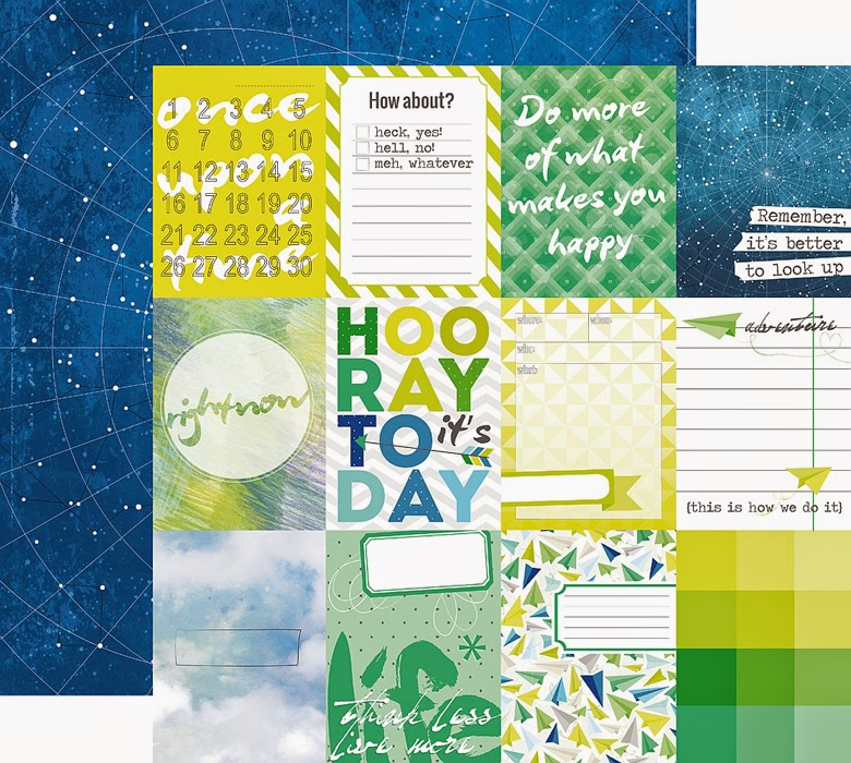 Materiales layout scrapbooking