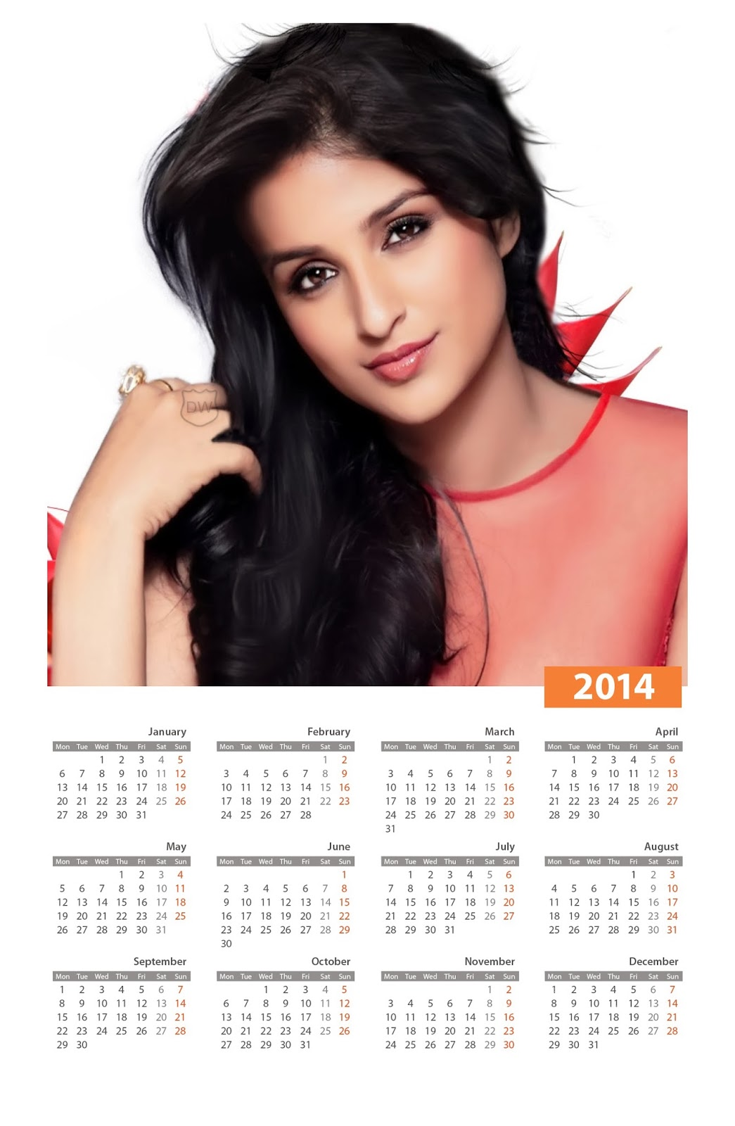 celebrity calendar 2018 bollywood | Printable Calendar 2019