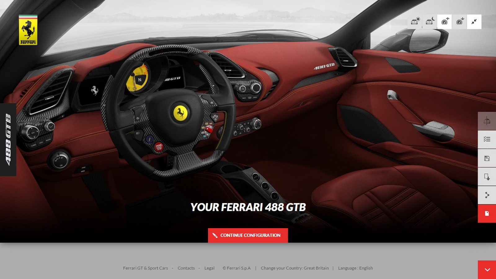 you can now build your own 488gtb on ferrari s configurator. Cars Review. Best American Auto & Cars Review