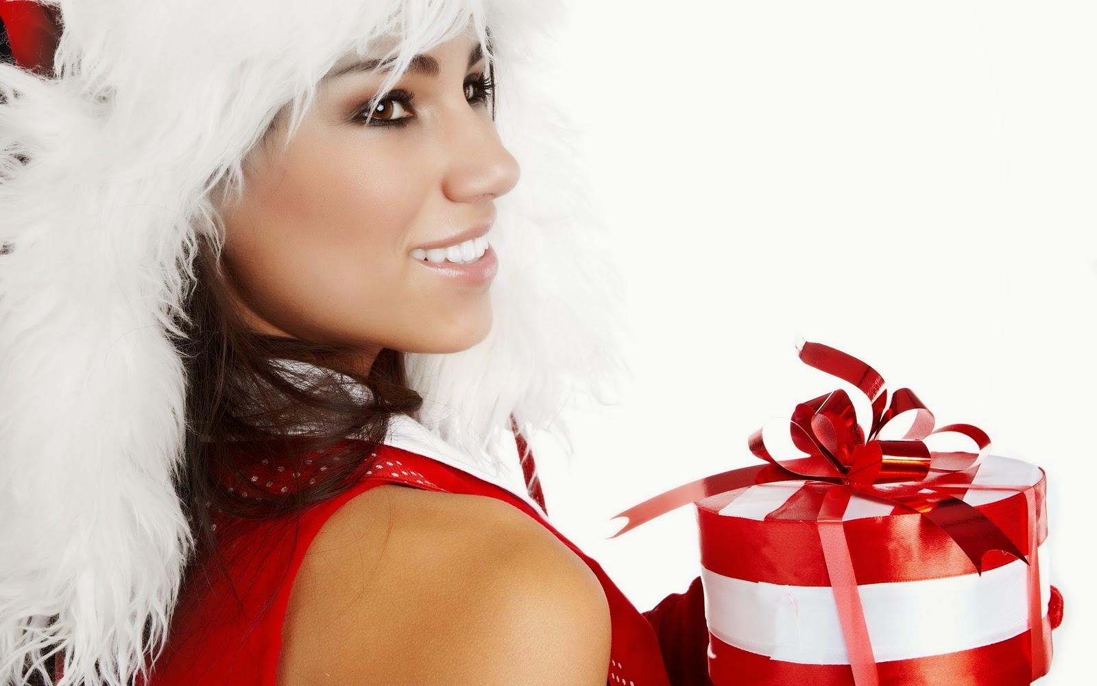 Entertainment World: Beutifull Christmas Girls HD Wallpapers