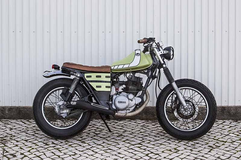 Generation Bobber Yamaha Sr 125 From Lab Motorcycles