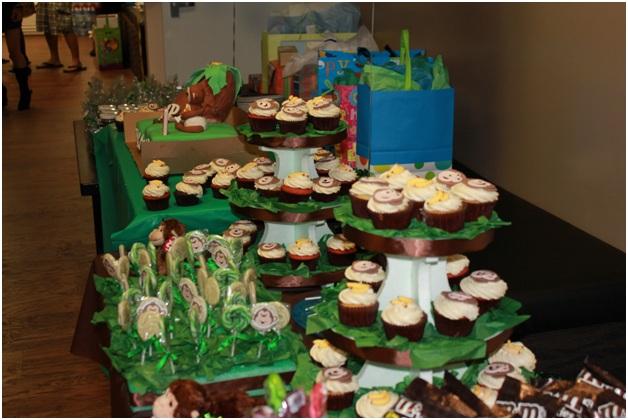 Birthday Ideas Designs Jaydens 1st Birthday Party Monkey Theme