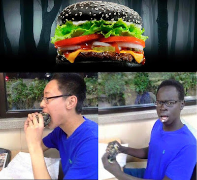 Los efectos de la hamburguesa negra del Burguer King
