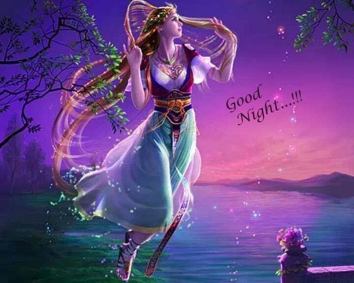 good night my all angle friends