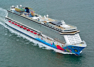Norwegian Cruise Line's New Norwegian Breakaway Under Sea Trials