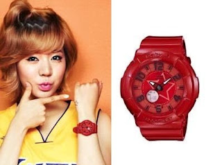 SNSD Sunny Casio Baby G Watch Collection