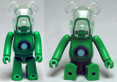 San Diego Comic-Con 2011 Exclusive Green Lantern Movie Light-Up Lantern 100% Be@rbrick by Medicom & Diamond Comics