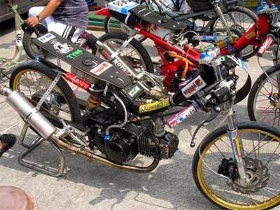 gambar motor drag race