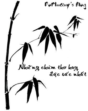 Những chùm thơ hay, đặc sắc nhất