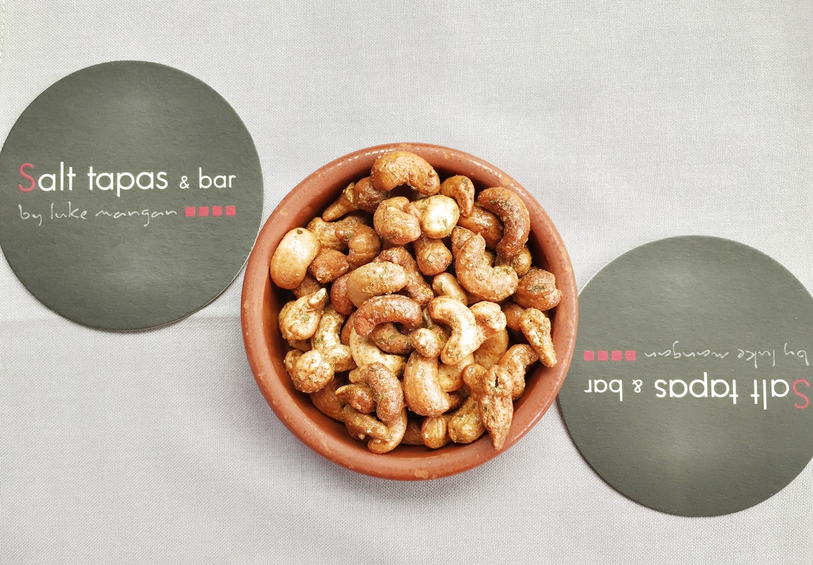 Salt Tapas and Bar - Spiced Cashew Nuts
