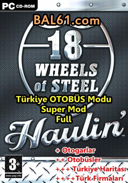 18 WOS HAULIN Türkiye Otobüs Modu (SuperMod) indir
