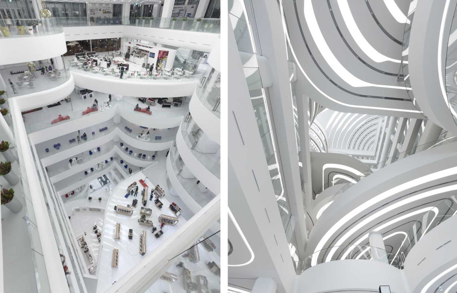 Galleria centercity by unstudio for Dep design interieur