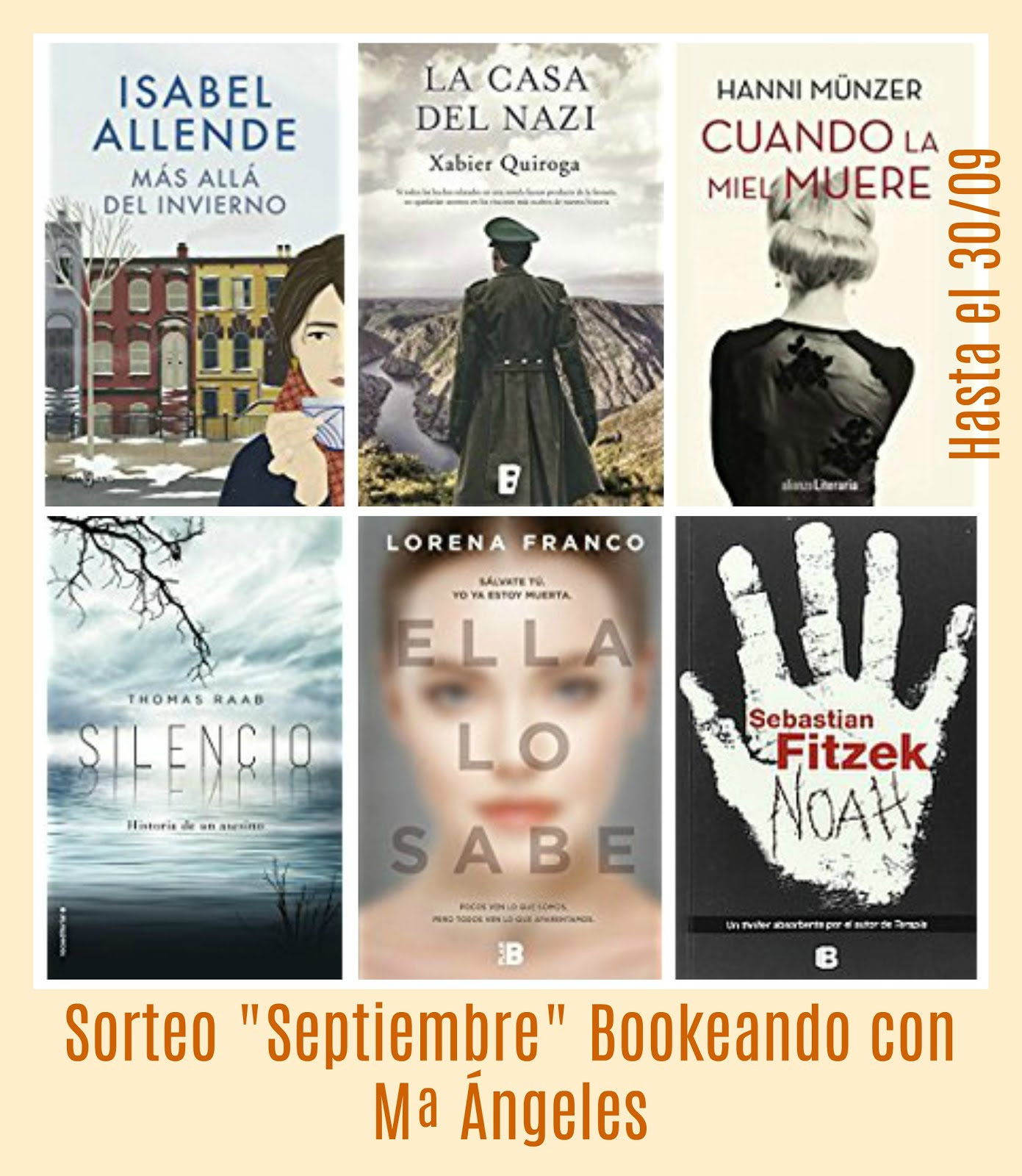 "Sorteo ""Septiembre"""