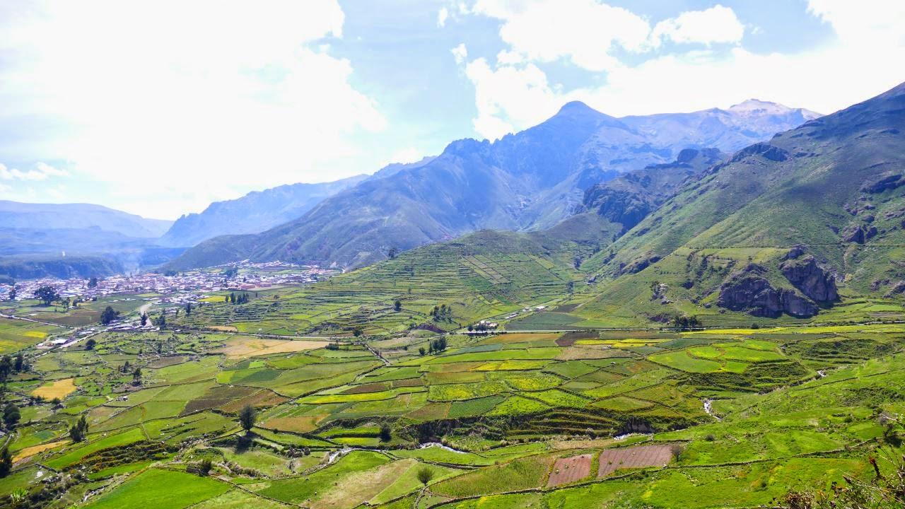 Chivay und das Colca Tal