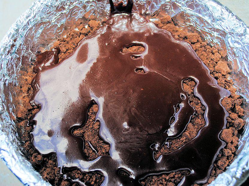 Peanut Butter Cup Ice Cream Cake–SBP - white house black shutters