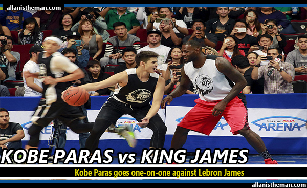 Kobe Paras goes one-on-one against Lebron James (Nike Rise VIDEO)