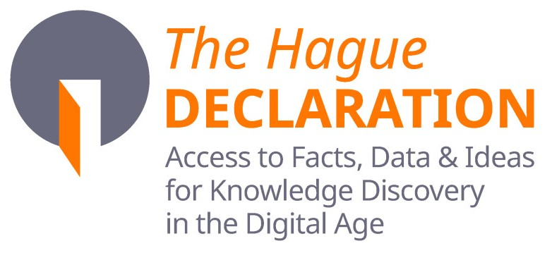 Jeremy brics on 6 may this year the hague declaration on knowledge discovery in the digital age was launched in brussels the general argument contained within the fandeluxe Choice Image