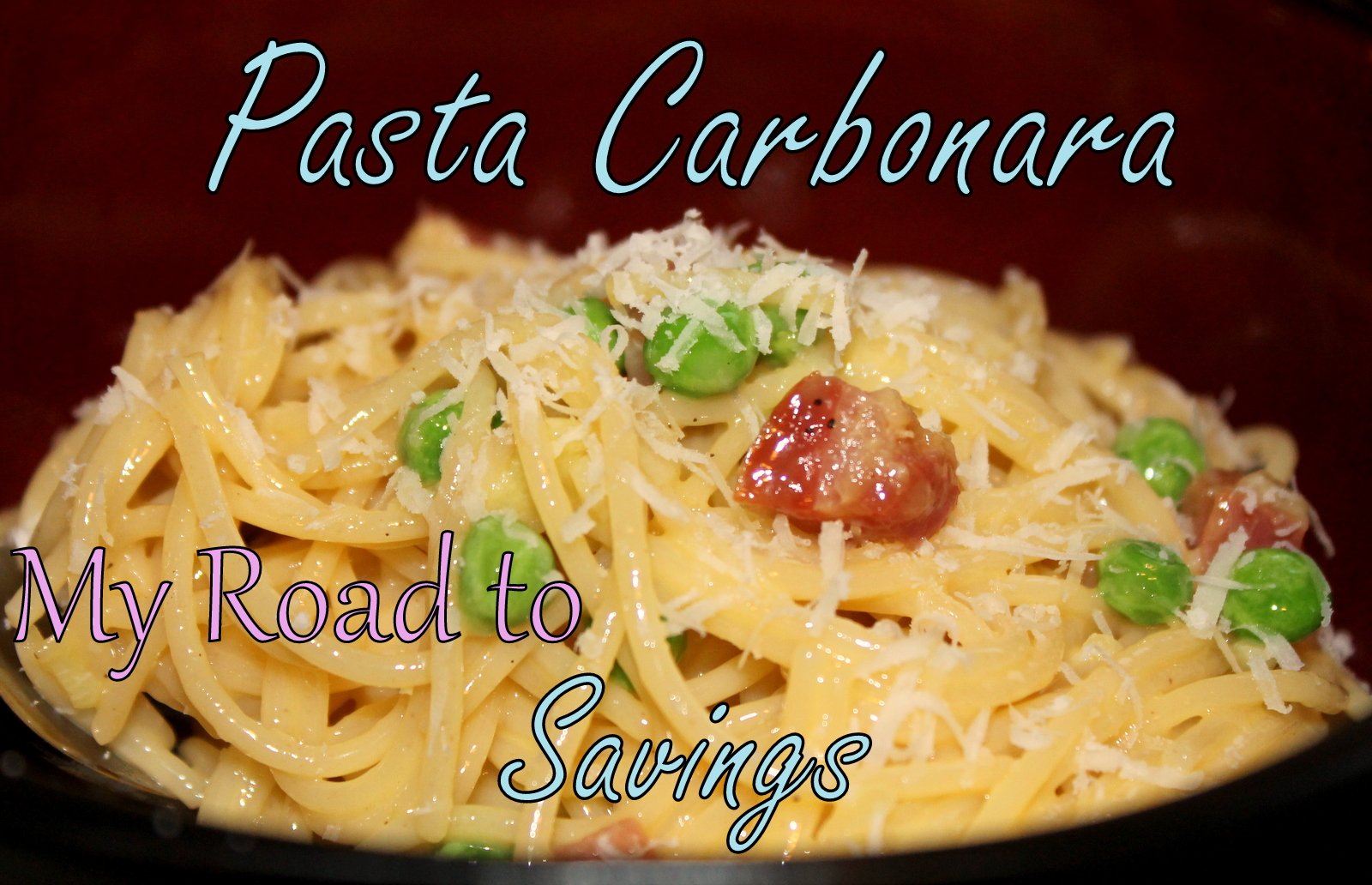 Learning the Ropes...One Recipe at a Time: Pasta Carbonara