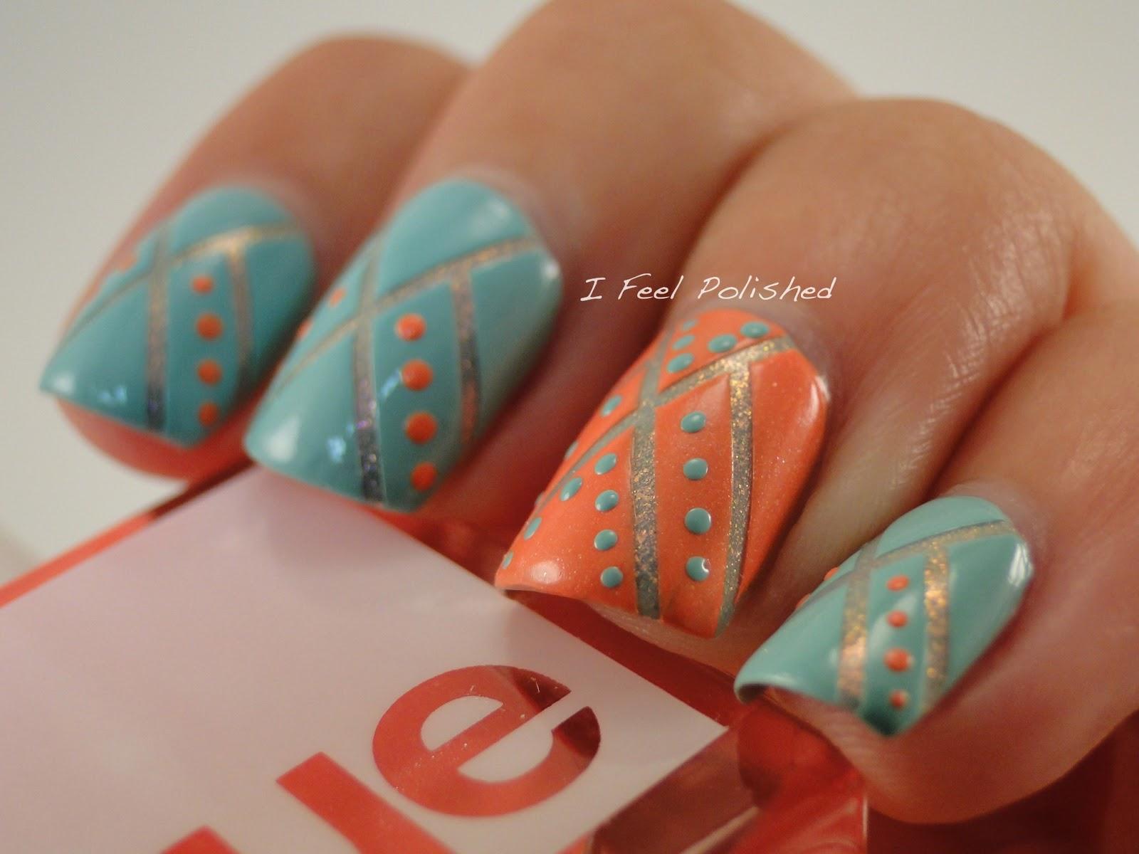 I Feel Polished Native American Inspired Nails