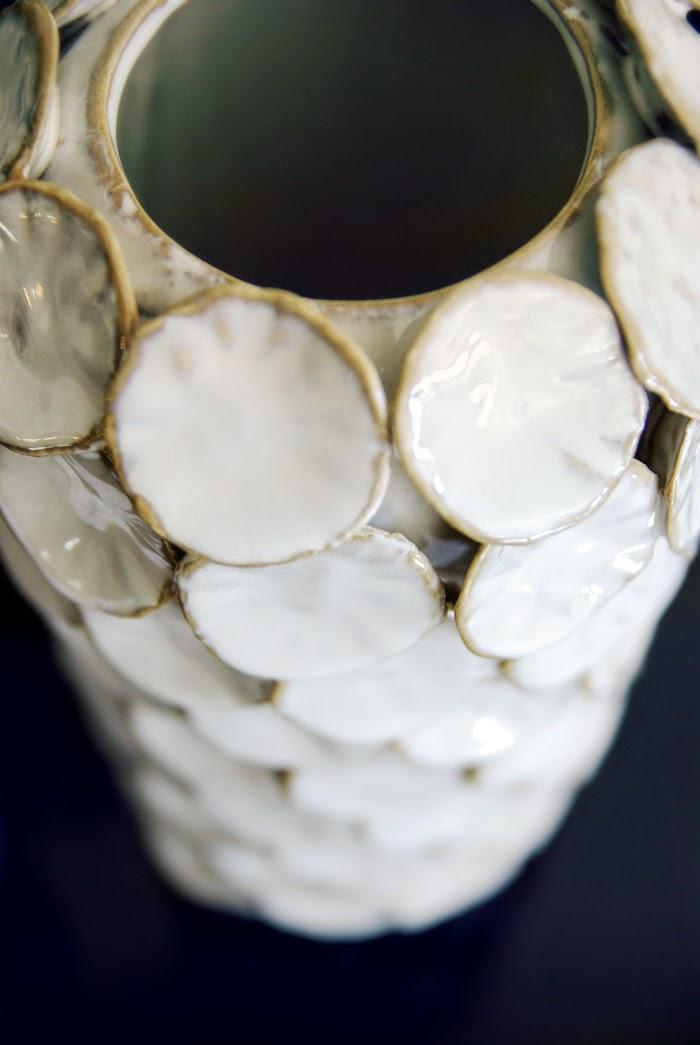 valkoinen maljakko, tiirinkoski