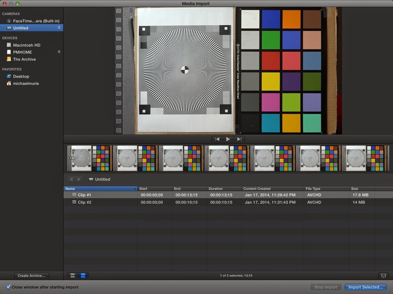 how to stop a video in final cut pro