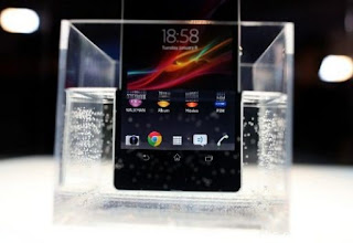 تصميم هاتف  Sony Xperia Z ككاميرا تصوير تحت الماء