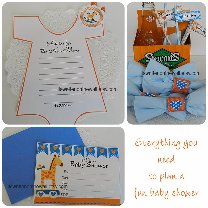 Everything You Need for a Baby Shower for a Perfect Little Boy