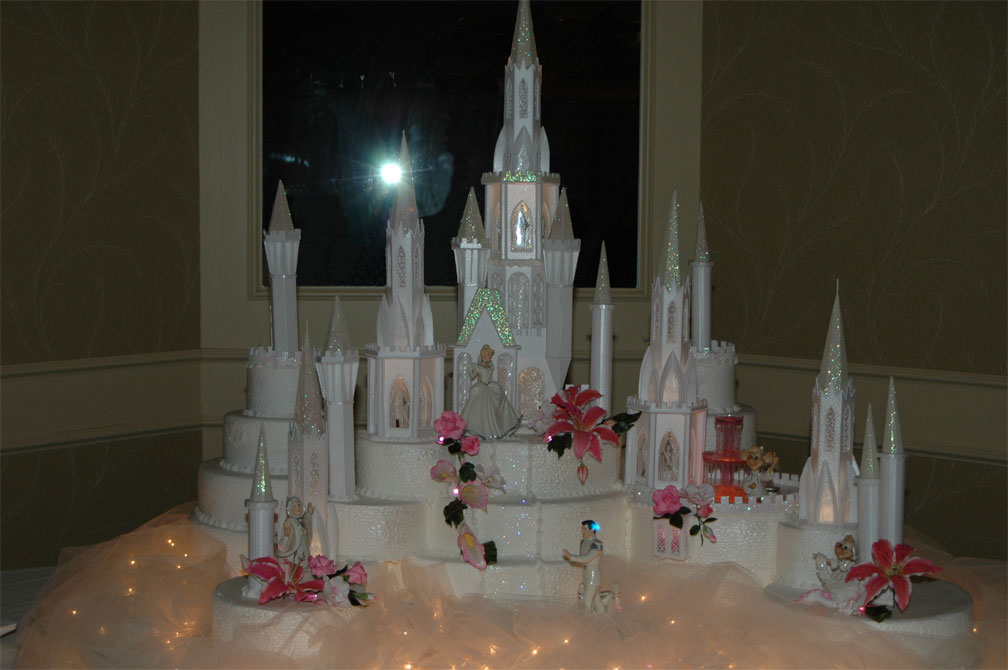 Cinderella Castle Wedding Cakes